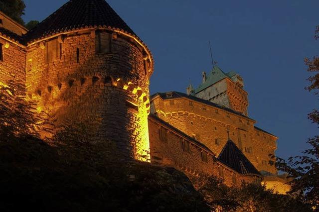 Die Hohkönigsburg im Elsass: Im Reich der Fantasie