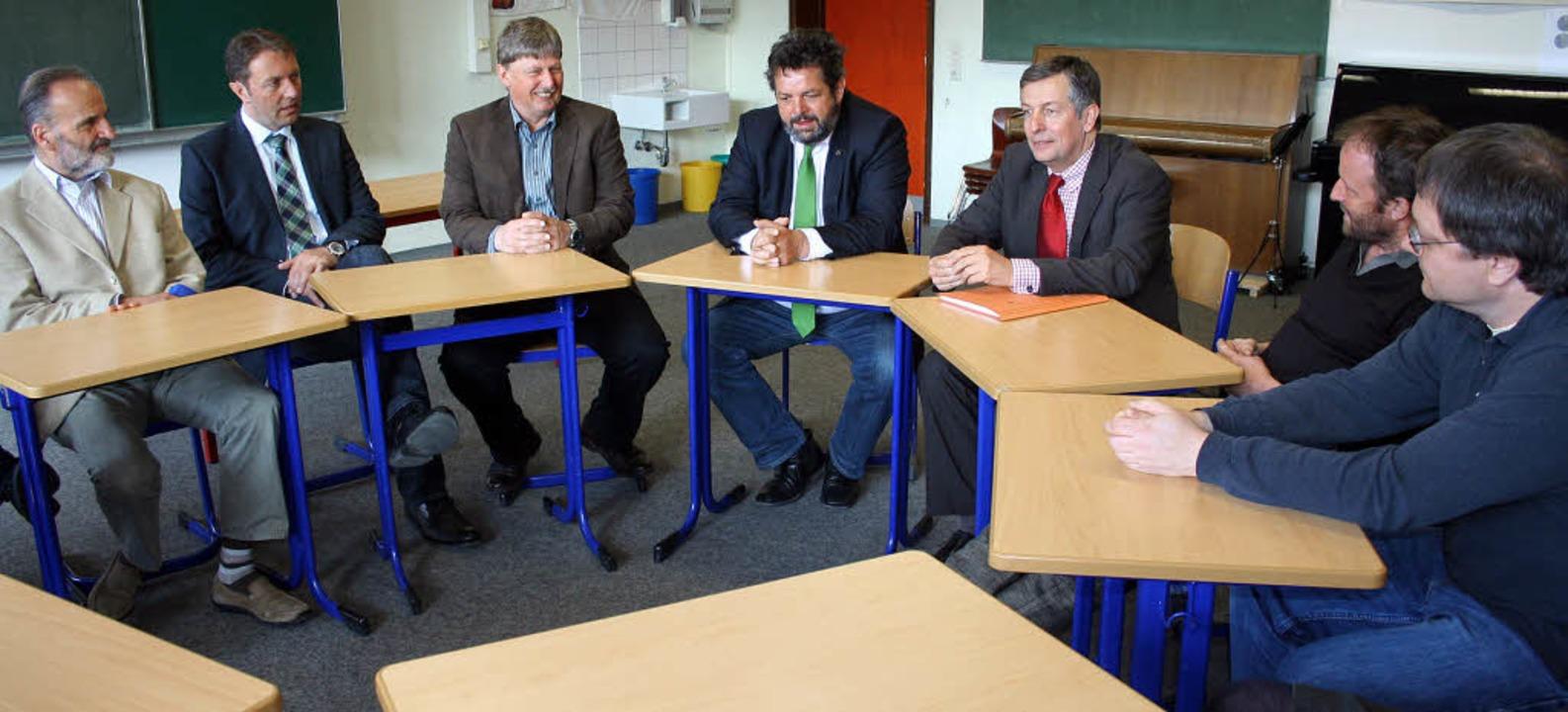 Das Thema Gemeinschaftsschule Hochschw...chte  der Landtagsabgeordnete nicht.    | Foto: DIETER MAURER