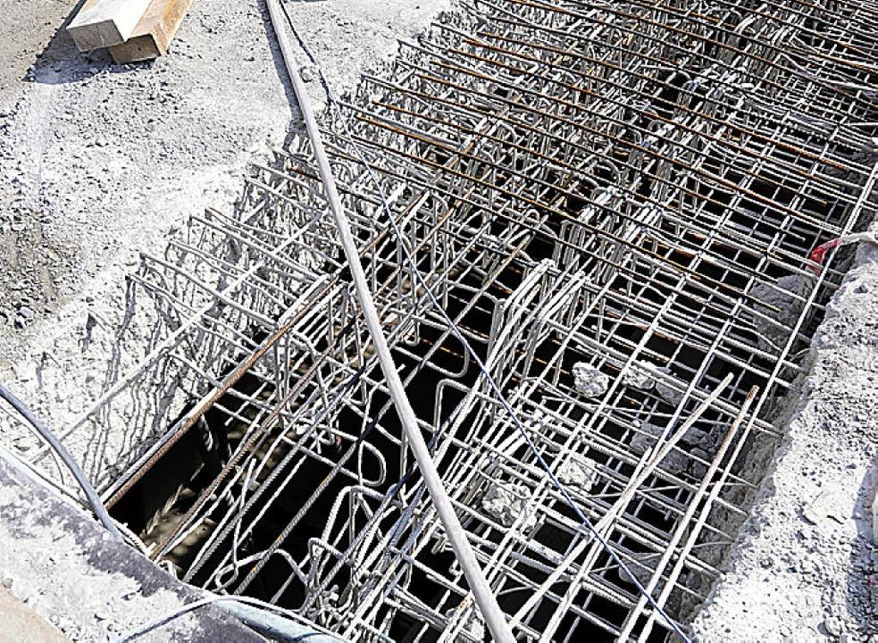 Vom Beton befreit: Stahlträger    Foto: Ingo Schneider