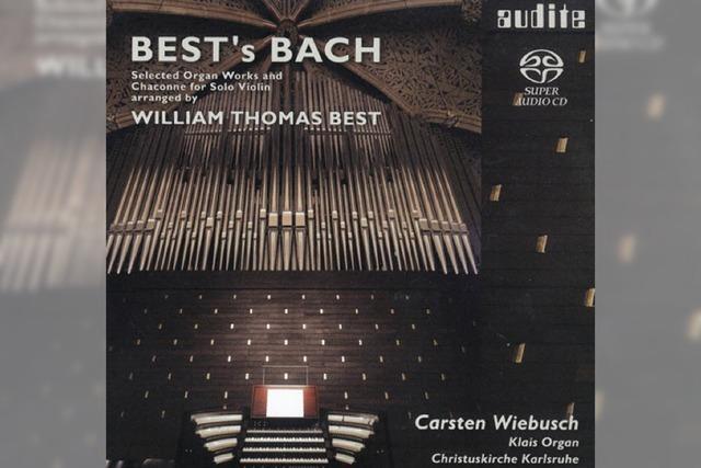 REGIO-CD: Wo Bach zum Briten wird