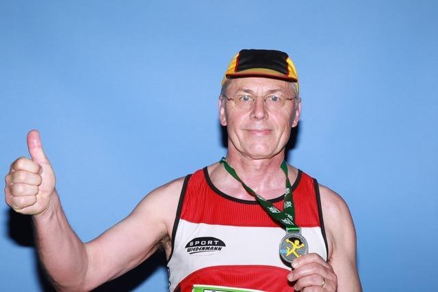 Marathon-Gesichter aus Freiburg