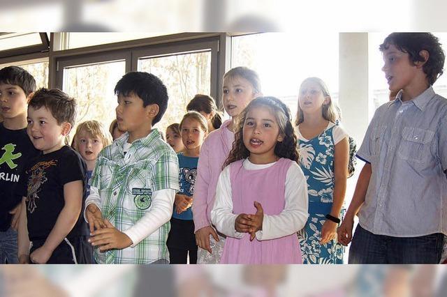 Osternester basteln und Frühlingslieder singen