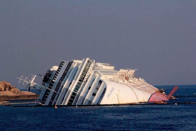 Havarie der Costa Concordia wird für Versicherer teuer