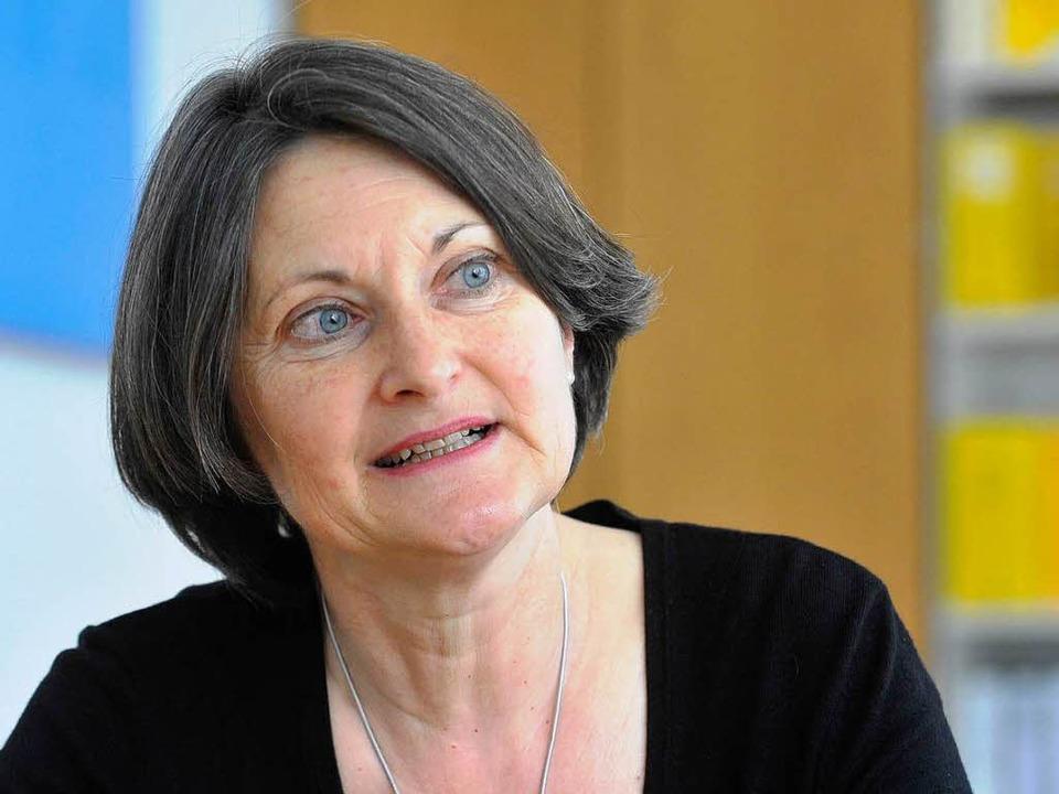 Bärbel Schäfer hat ihre Arbeit als neue Regierungspräsidentin aufgenommen.    Foto: Michael Bamberger