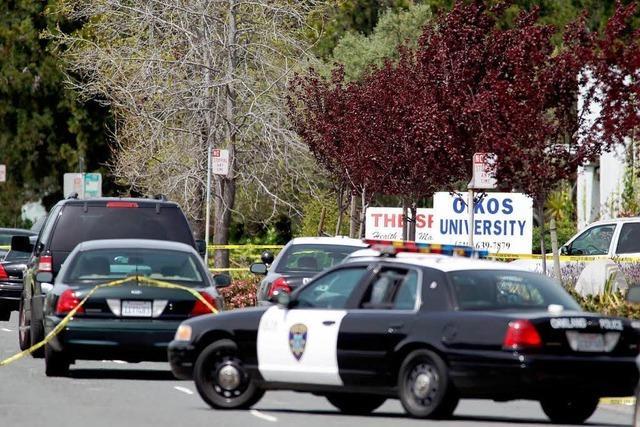 Amoklauf mit sieben Toten an kalifornischem Privatcollege
