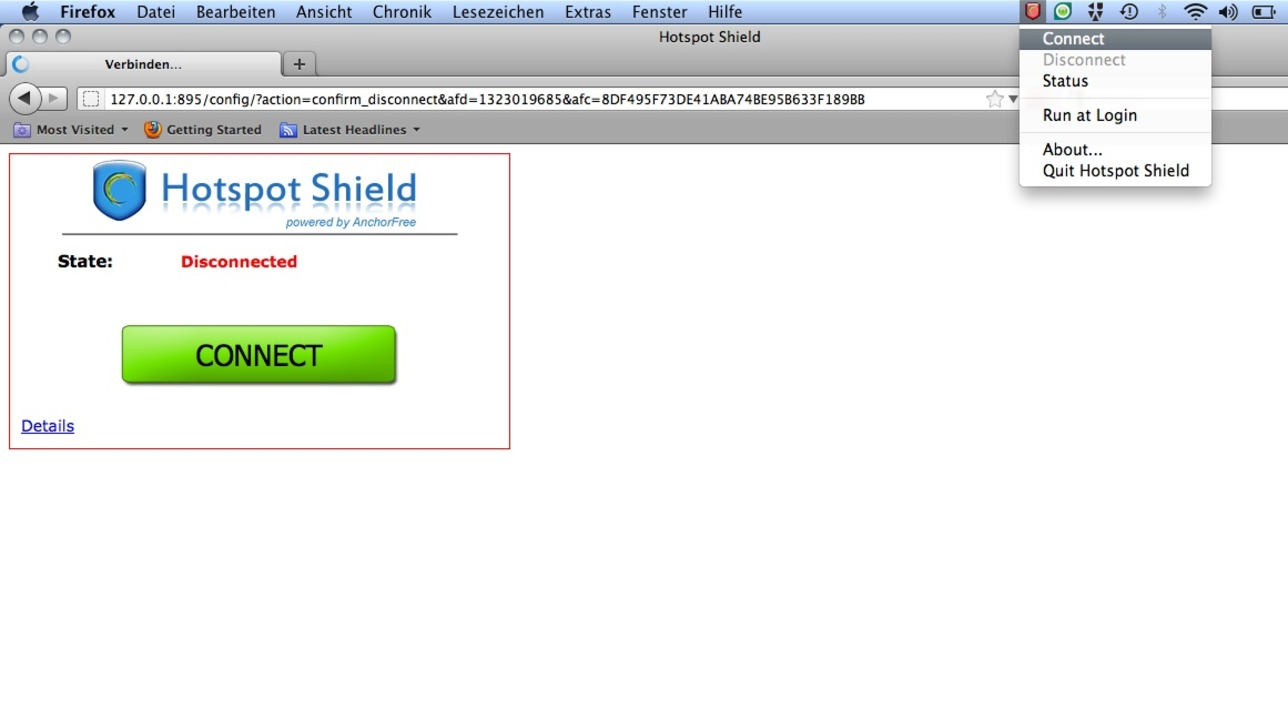 Hotspot Shield  | Foto: IDG