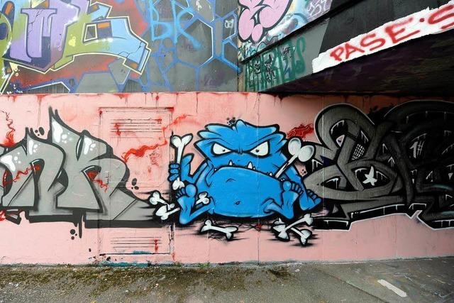Graffiti – Kunst oder Schmiererei?