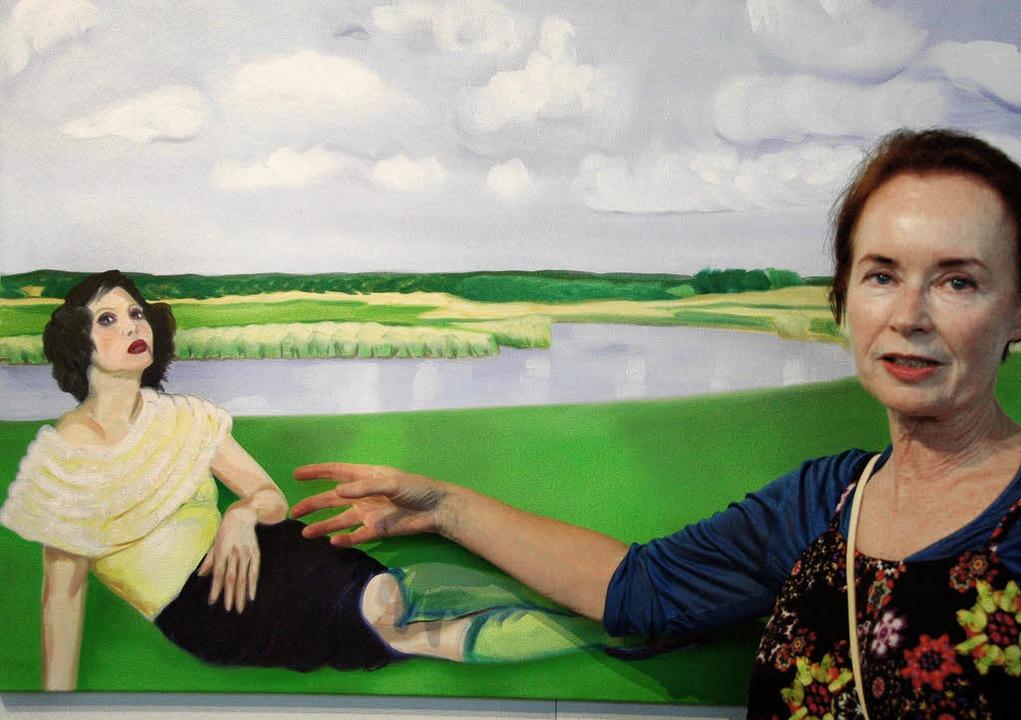 Ausstellung von Barbara Egin  | Foto: Andrea Steinhart