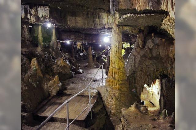 Hasler Tropfsteinhöhle: Keine Angst vor Gnomen