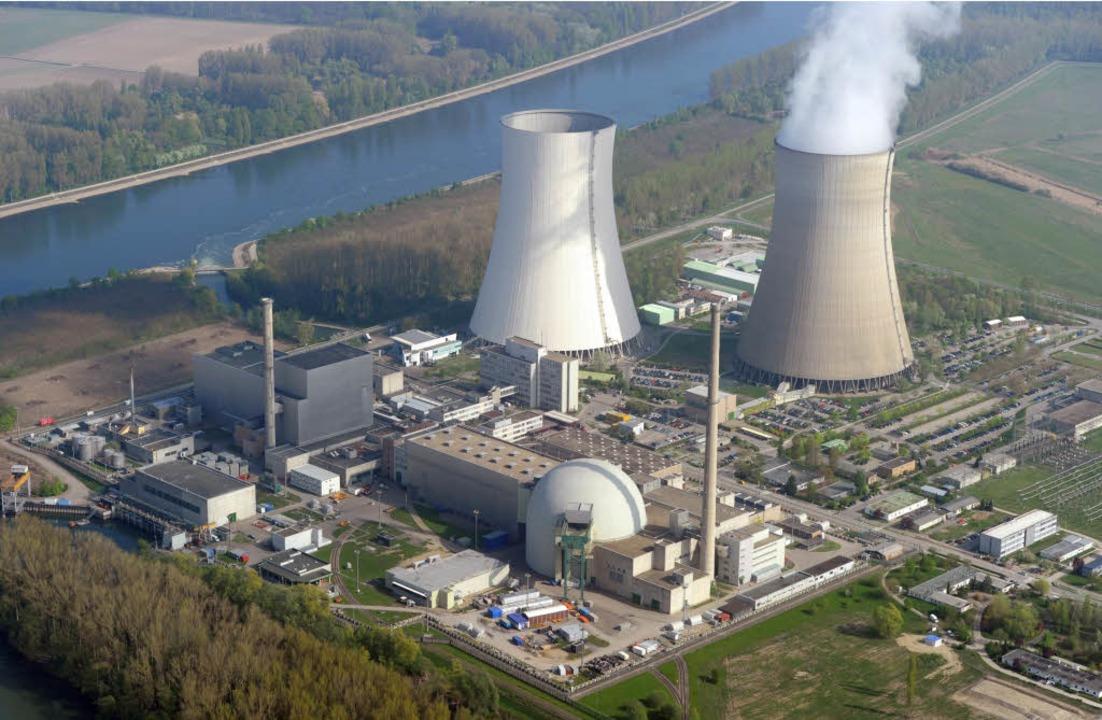 Umstritten und umstrittener: das Kraftwerk Philippsburg in Nordbaden.  | Foto: dpa