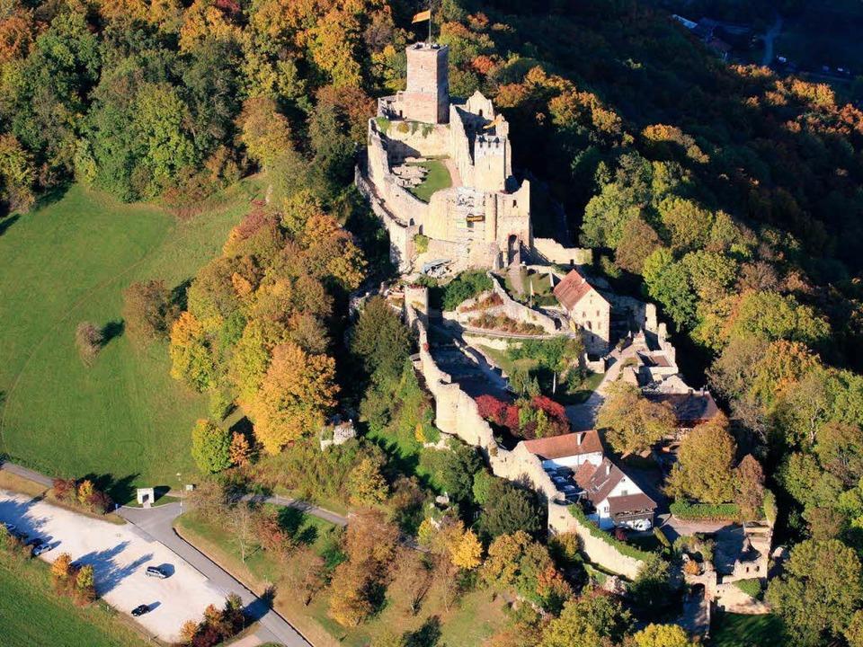 Teile der Burg Rötteln sind offenbar älter als gedacht. Dies belegen neue Funde  | Foto: Erich Meyer