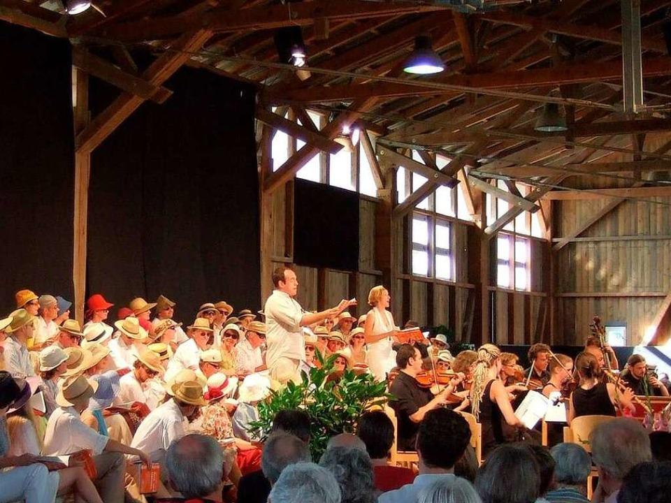 Das Abschlußkonzert des Ebneter Kultursommers.    Foto: PR