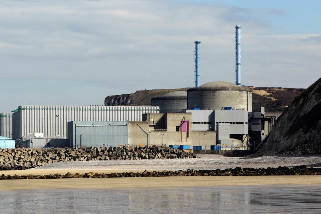 Das Atomkraftwerk Penly (Archivbild)    Foto: AFP