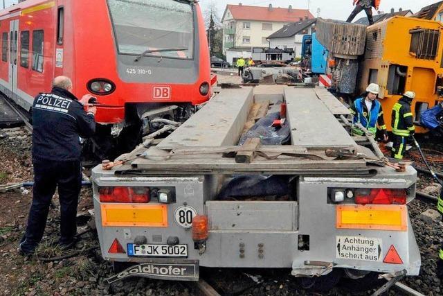 Bahnstrecke Karlsruhe – Pforzheim weiter gesperrt