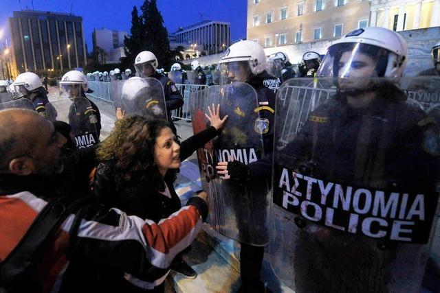 Suizid eines Rentners schockiert Griechenland