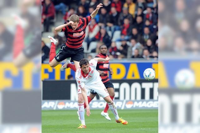 SC Freiburg erkämpft sich gegen den 1. FC Nürnberg ein 2:2