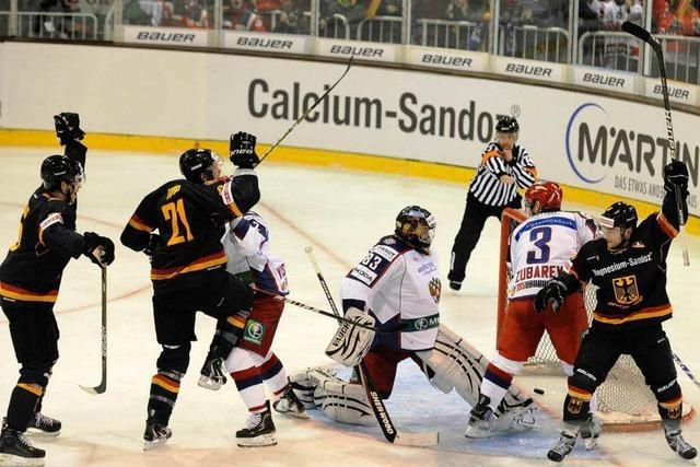 Freiburg bleibt ein gutes Pflaster für das deutsche Eishockey-Team