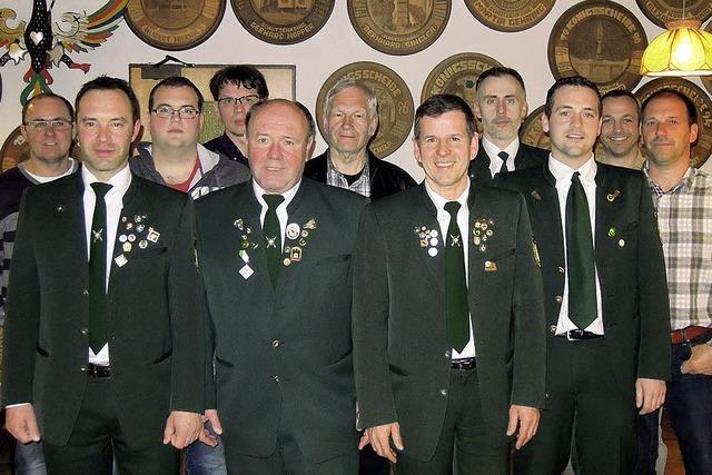 Die Elzacher Sportschützen wählten und ehrten