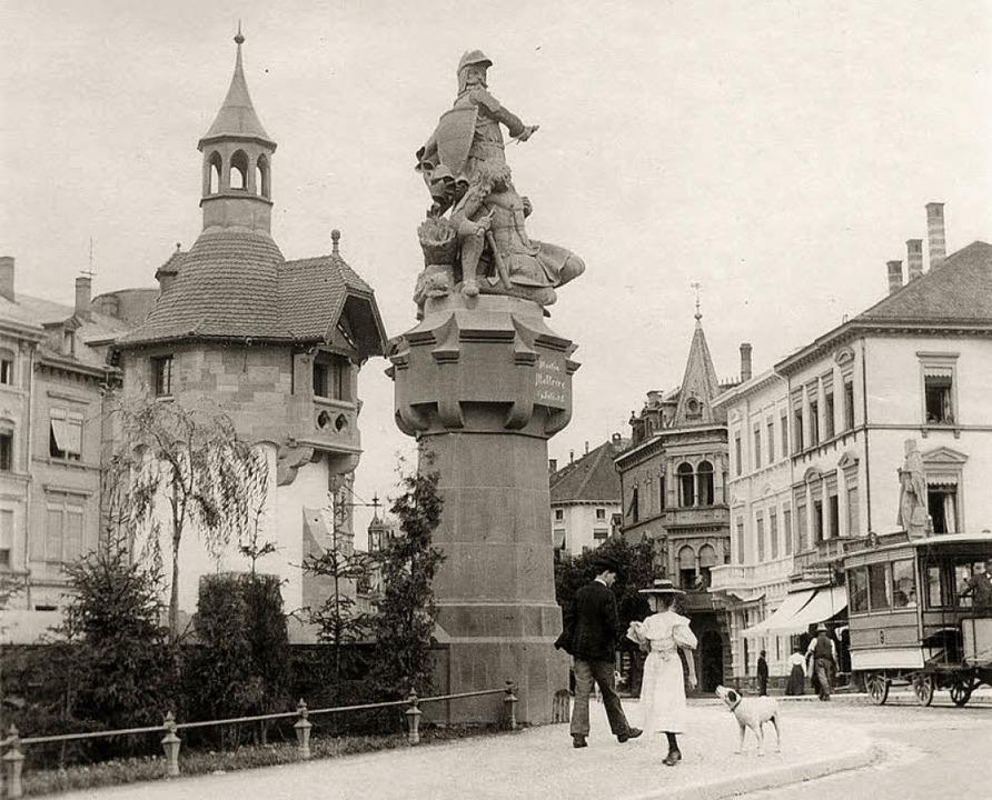 Stark verändert hat sich in über 100 J...m Bau meist bis heute erhalten wurde.   | Foto: Kreisarchiv Breisgau-Hochschwarzwald