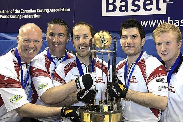 Das Curling-Team