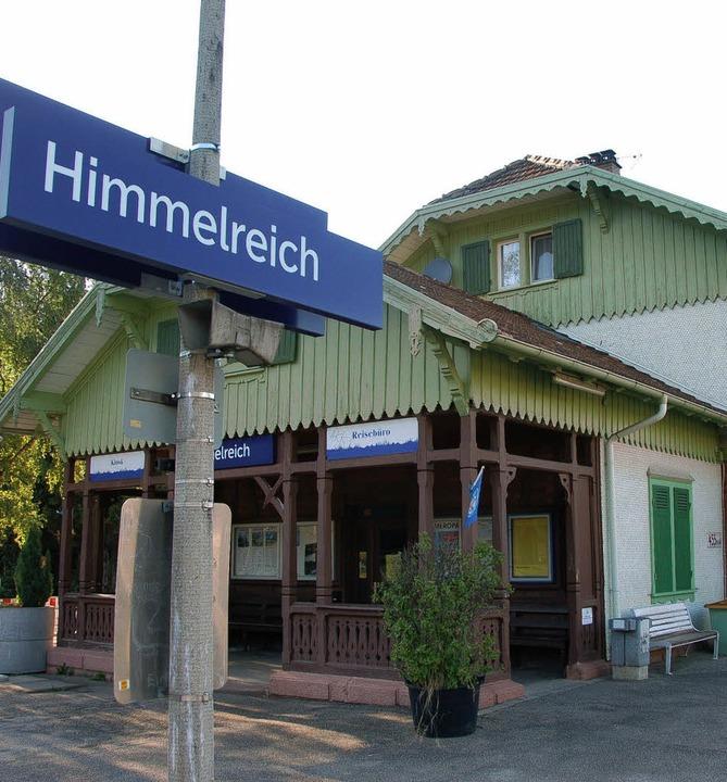 Alle 15 Minuten soll die Bahn nach dem...s  zum Bahnhof  in Himmelreich fahren.  | Foto: MArkus Donner