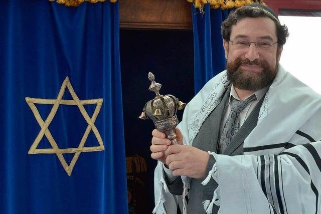 Moshe Navon – erster Rabbiner der Jüdischen Gemeinde