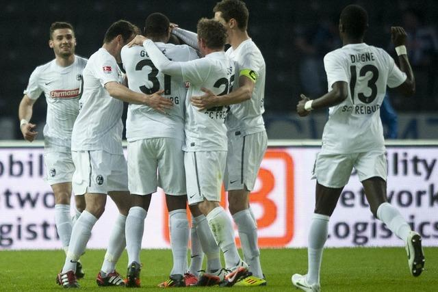 Endstand: Hertha BSC Berlin – SC Freiburg 1:2