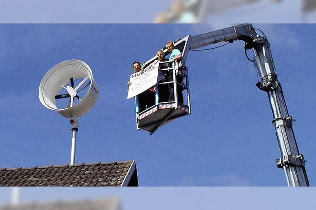 Turbine soll Hof versorgen