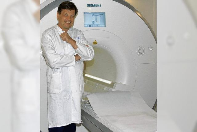 Diagnostik mit Kernspintomograph