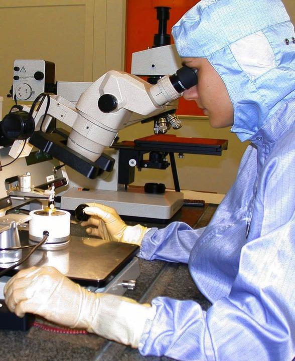 Forschung und Entwicklung sind unabdin...arkasse künftig dem Mittelstand sein.   | Foto: Archiv: Förderverein Science & Technologie