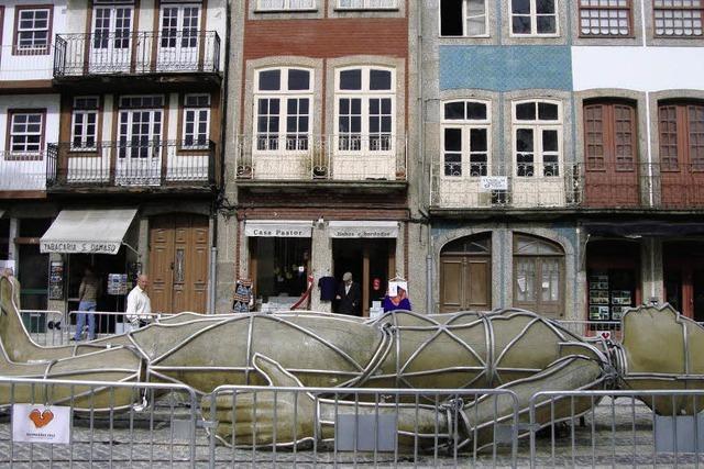 Kulturhauptstadt: Ein Herz für Guimarães