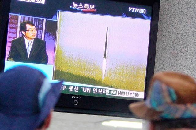 Nordkoreas umstrittener Raketenstart schlägt fehl