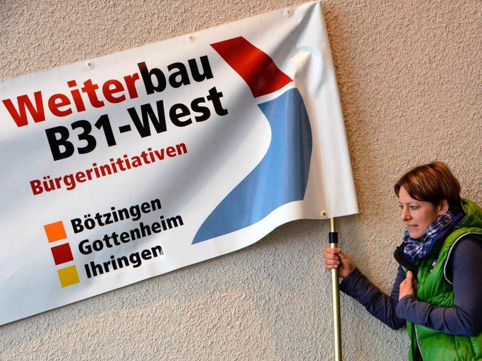 Die einen demonstrierten für die B31...  | Foto: Kathrin Blum