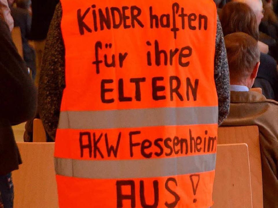… andere gegen Atomkraft  | Foto: Kathrin Blum