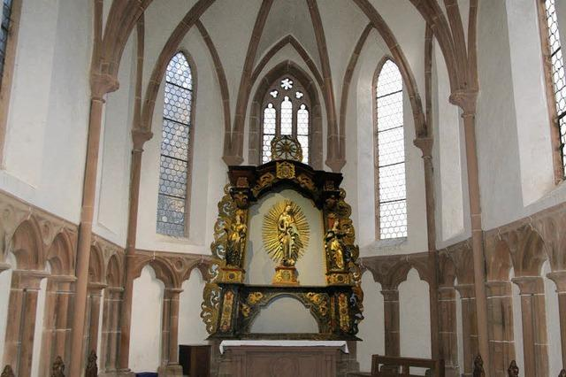 Der letzte Täufling war Theresia Obergfell