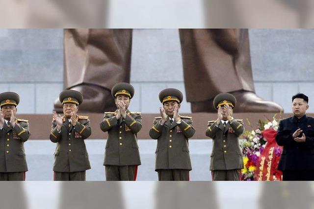 Nordkoreas Rakete landet im Meer