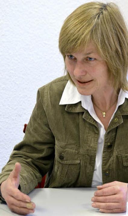 OB-Kandidatin Susanne Wienecke    Foto: Sylvia-Karina Jahn