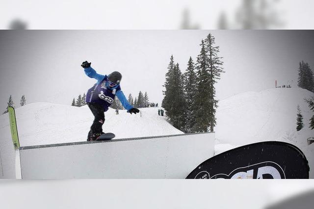 Freche Tricks und coole Slides im Schneesturm