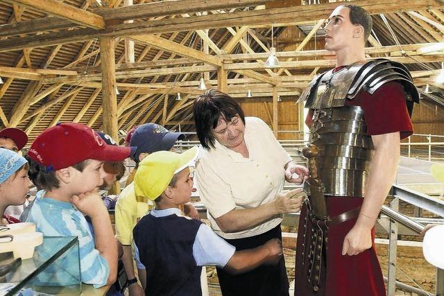 Spaß und Spannung bei den Römern