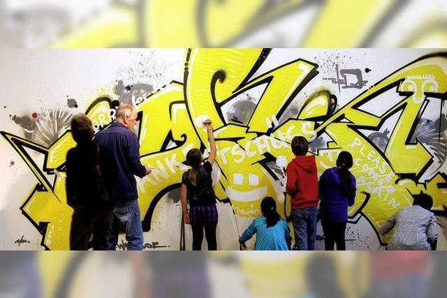 Kunstvolles mit Graffiti