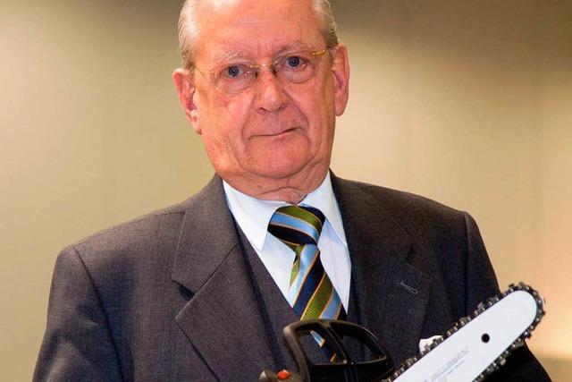 Der Motorsägenbauer Hans Peter Stihl über sein Lebenswerk