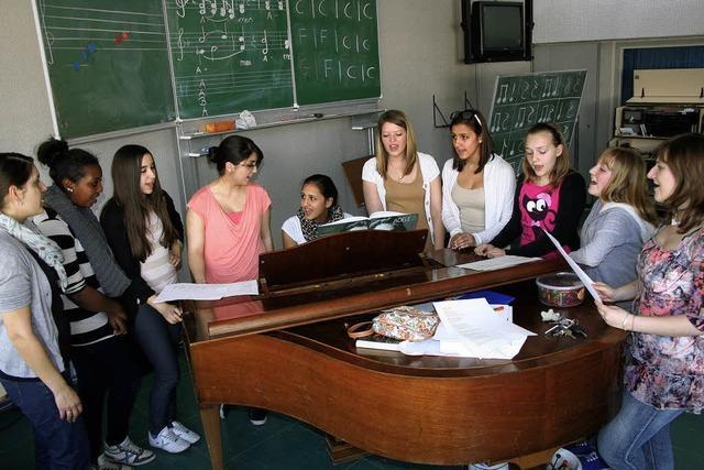 Singen lernen in der Bärenfelsschule