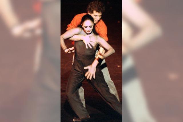 Die Schauspielerin unter den Tänzern