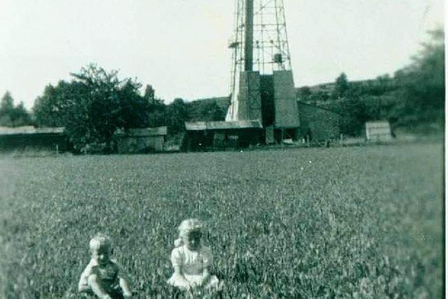 Buggingens vergessener Bohrturm – 1936 wurde nach Öl gesucht