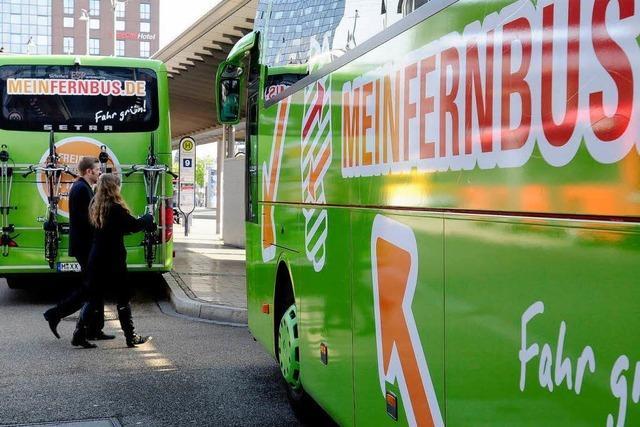 Fernbuslinie zwischen Freiburg und München startet