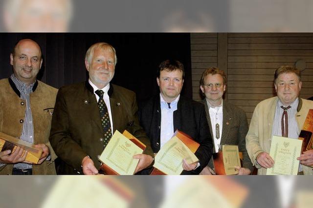 Auszeichnungen für Fleisch aus der Region