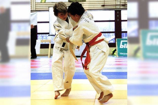 Pablo Schmid überzeugt gegen ausländische Judoka