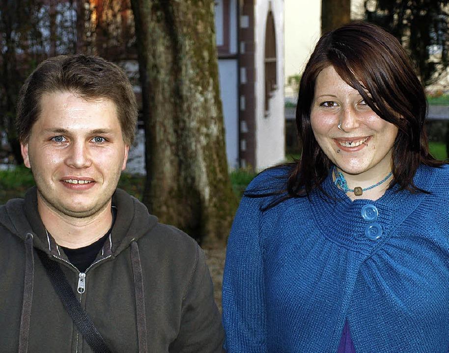 Neuer Leiter des Jugendtreff Brombach ... ihm zur Seite steht Sabrina Brunner.   | Foto: Paul Schleer