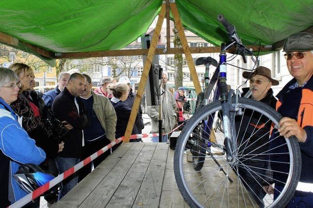 Ein komplettes Fahrrad für 3,00 Euro