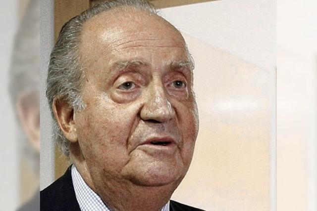 Juan Carlos bittet um Entschuldigung